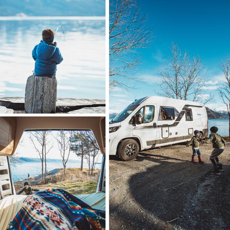 Campingferie i Norge med bobil eller campingvogn fra Ferda