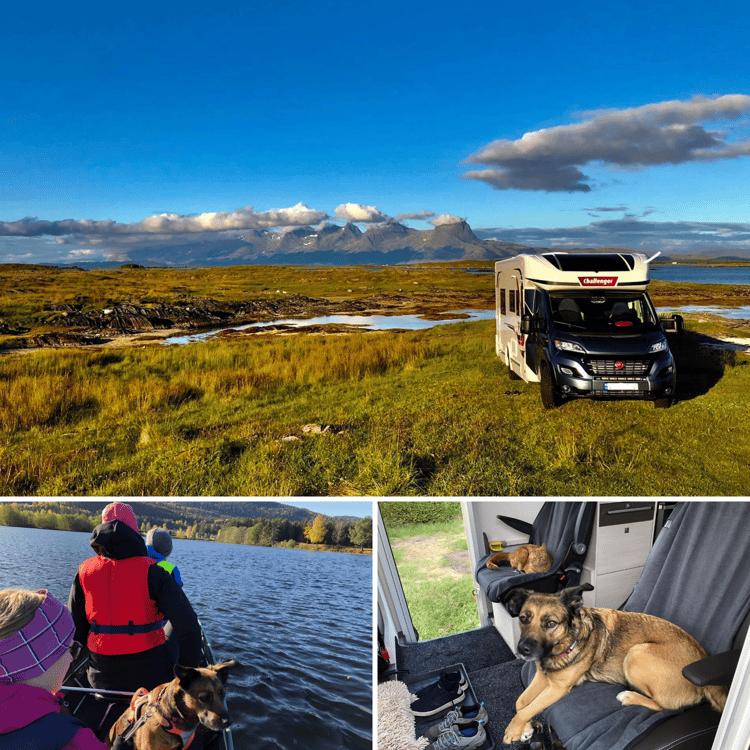 Reis akkurat dit du vil med en bobil fra Ferda. Øyvind Raen og familien bruker bobilen sin hele året.