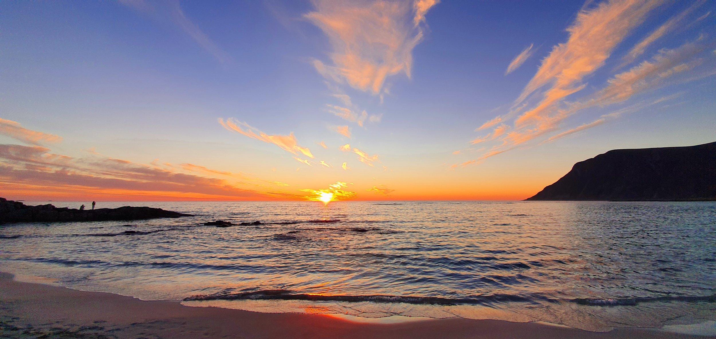 Opplev fantastiske solnedganger med en bobil fra Ferda