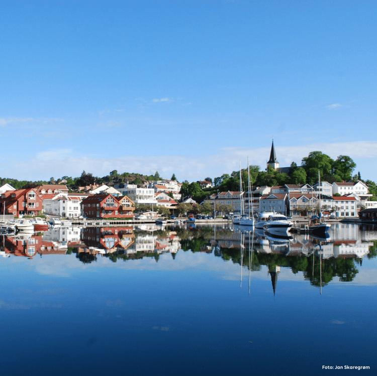 Ta turen innom Grimstad og besøk Ferda Grimstad