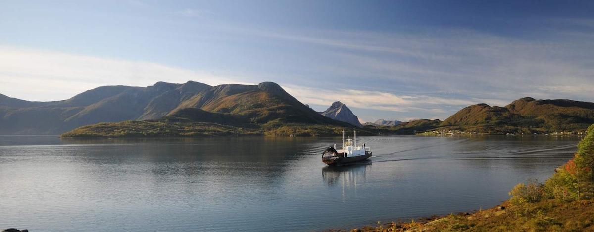 Bilde av ferge fra Vistit Norway