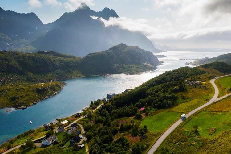 Opplev Norge med bobil fra Ferda