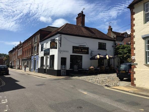 Kings Arms Pub i Arundel
