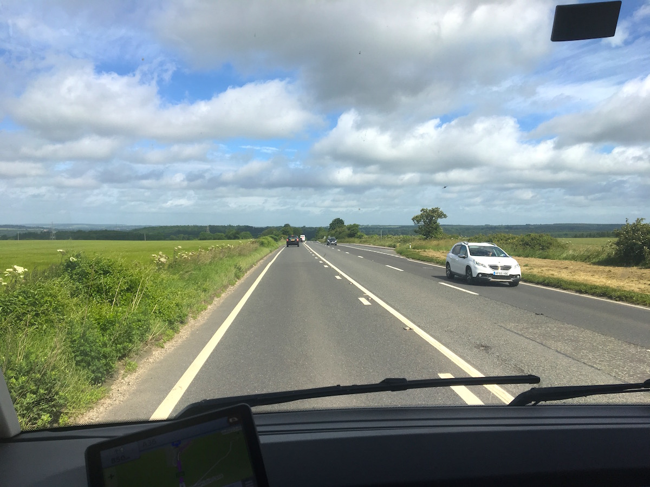 Langs veien i Syd-England