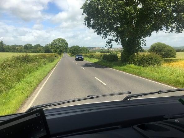 En fryd å kjøre bobil i England