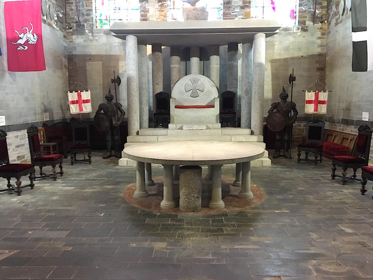 King Arthurs Hall i Tintagel