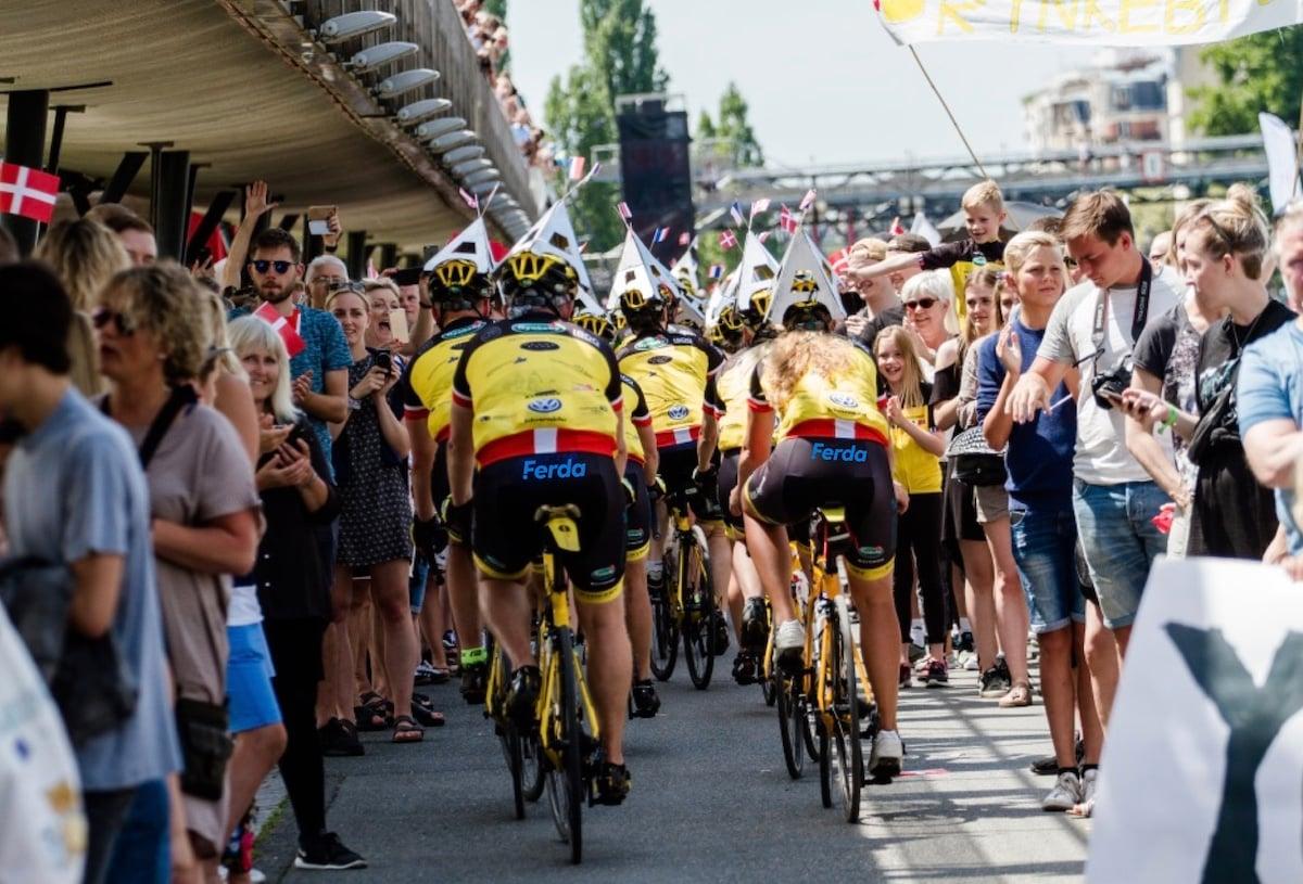 Ferda sponsor Team Rynkeby 2