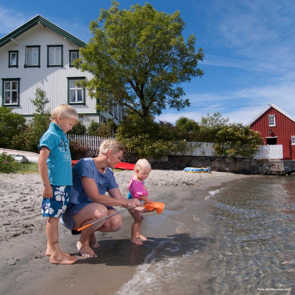 Opplev Sørlandet i sommer med campingvogn eller bobil fra Ferda