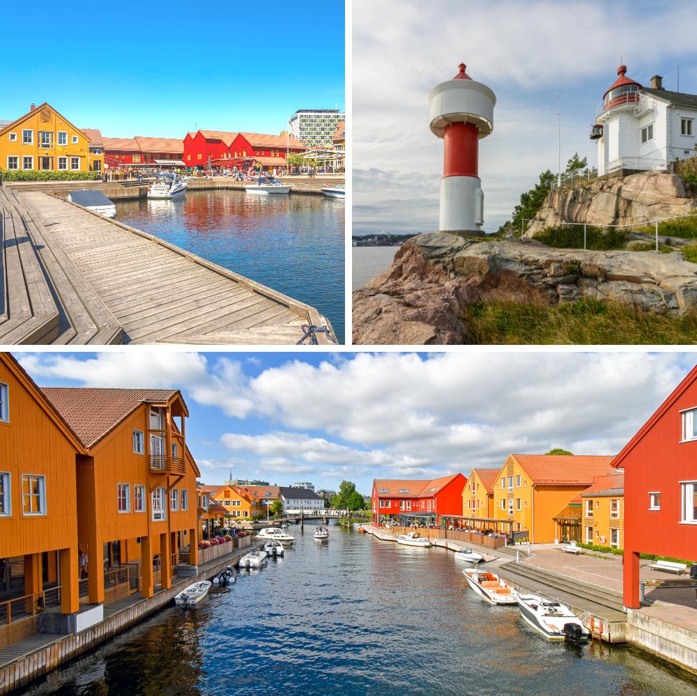 Reis til Kristiansand med bobil eller campingvogn fra Ferda