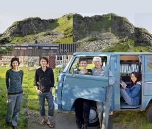 Bilde av familien Tollefsen er fra deres egen hjemmeside
