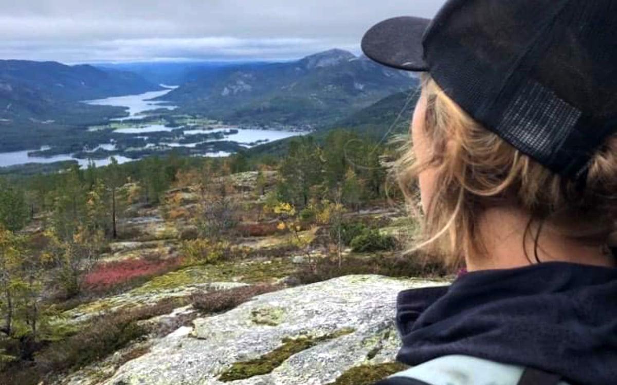 utsikt på fjellet
