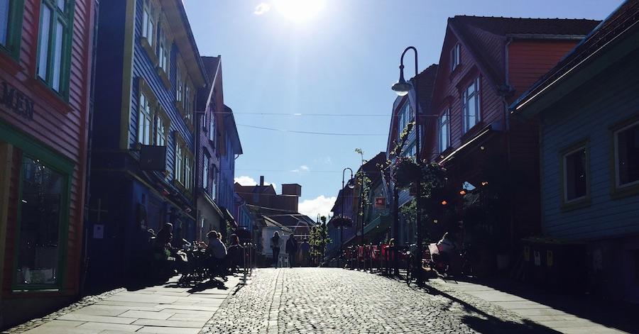 Gateliv, Stavanger