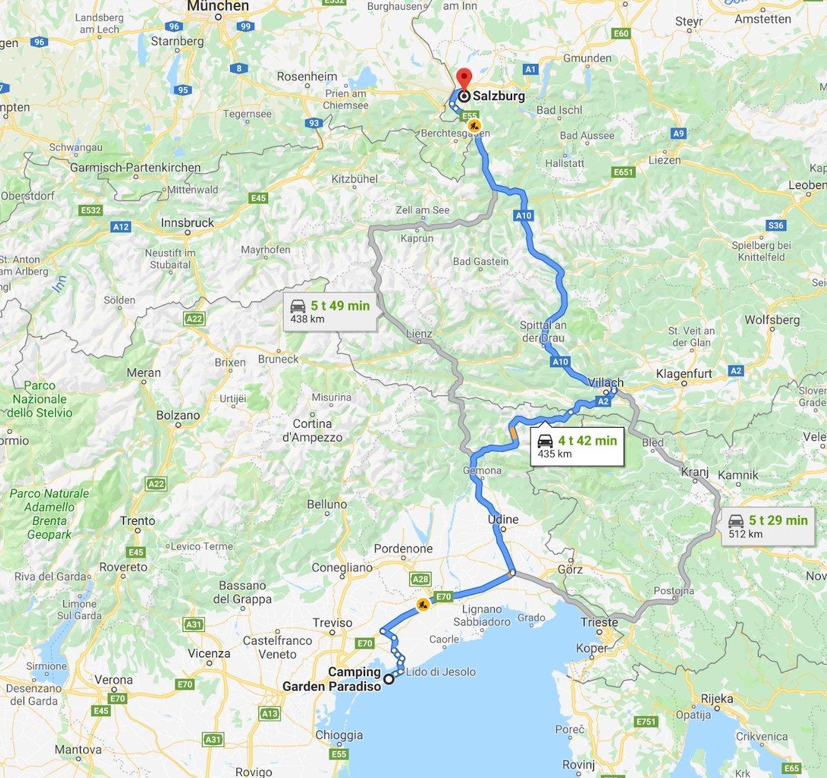 Italia - Østerrike 89