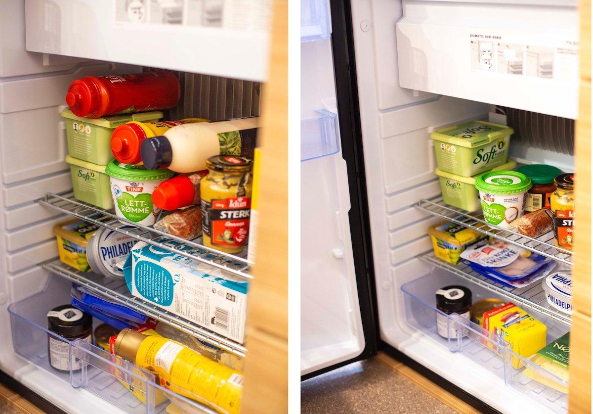 Kjøleskap vognbobil