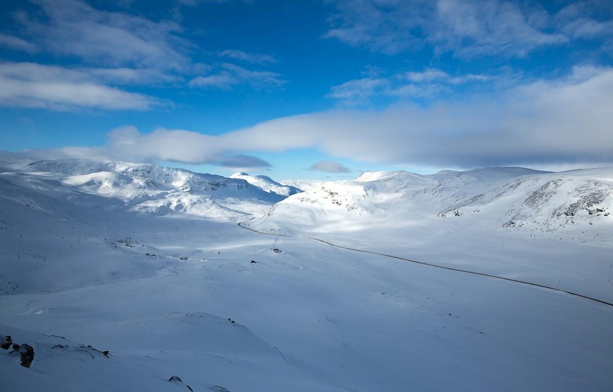 Vinterfjellet i Hemsedal på sitt beste