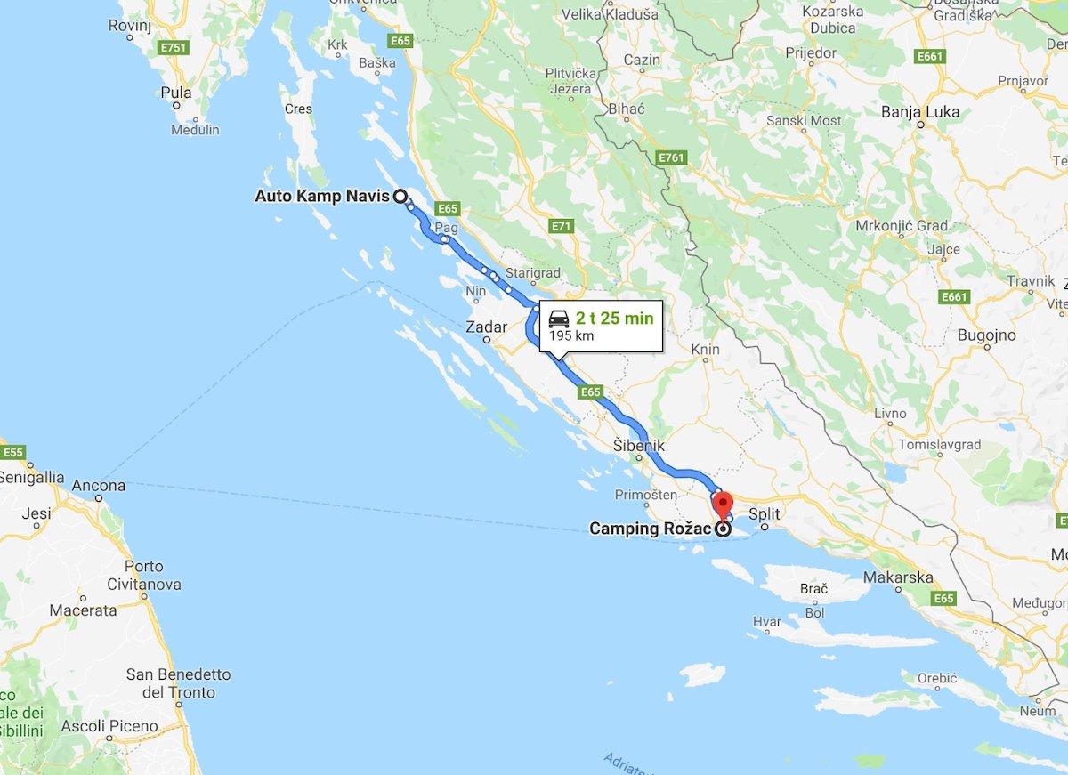 Trogir-Split 4