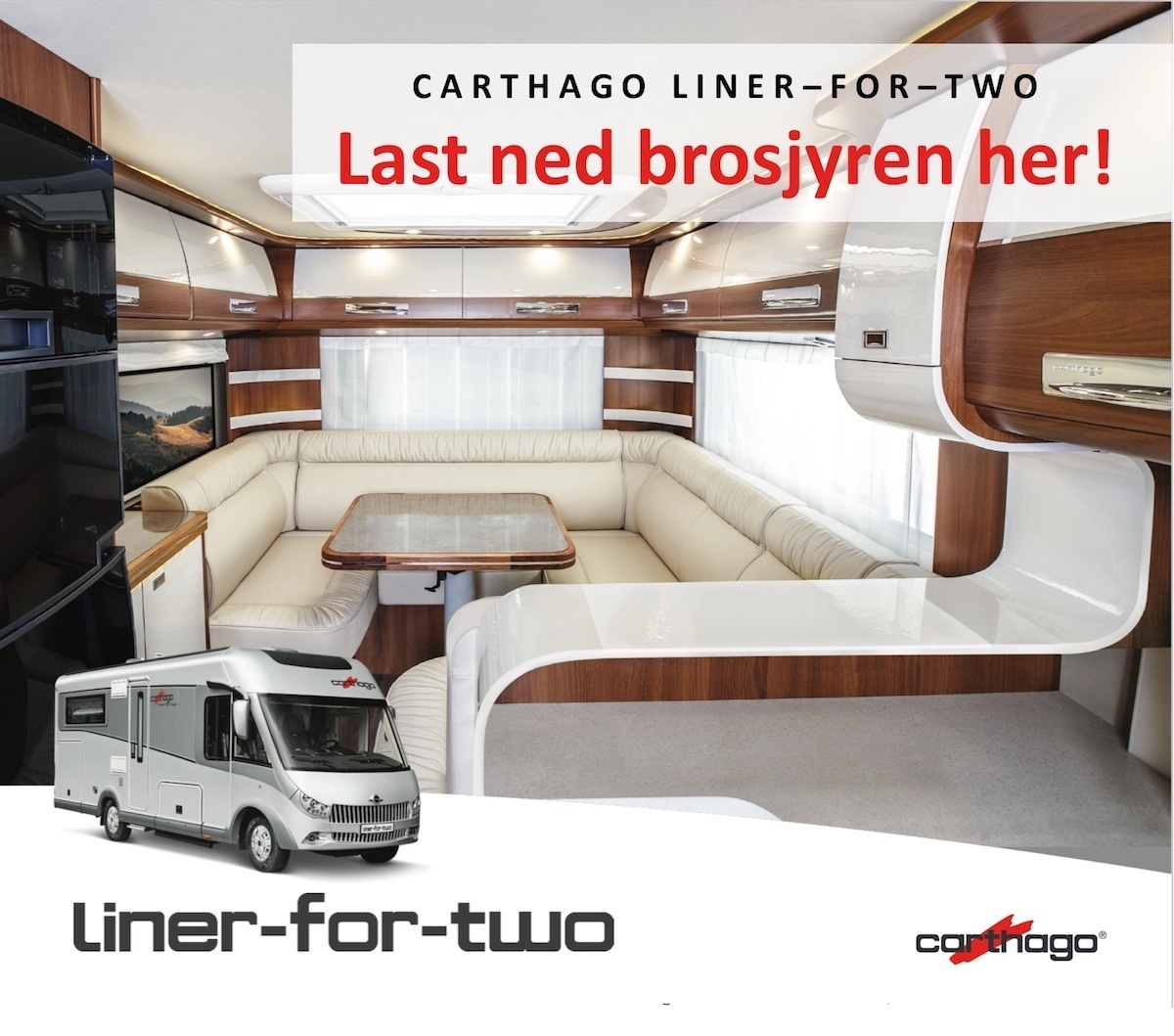 Carthaho Liner for two brosjyre