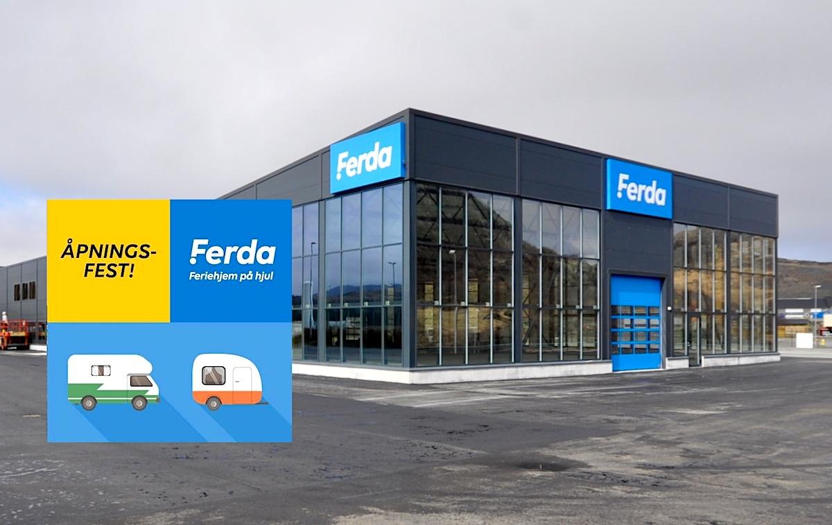 11. - 13. mai åpner vi vårt nye Ferda-bygg på Ålgård! Tar du deg en tur?