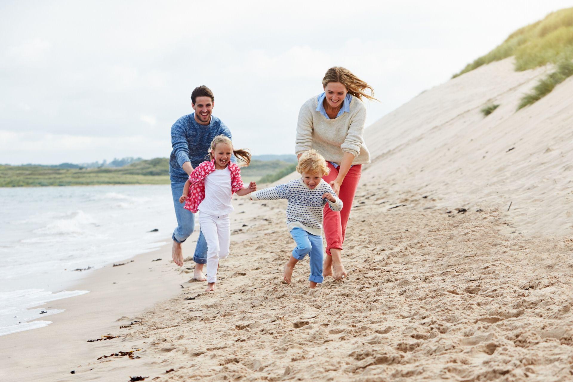 Reis på familieferie til Sørlandet