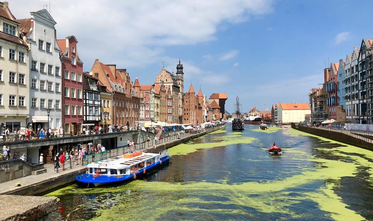 Bli med til Gdansk, siste bybesøk på vår eventyrlige bobiltur i Øst-Europa