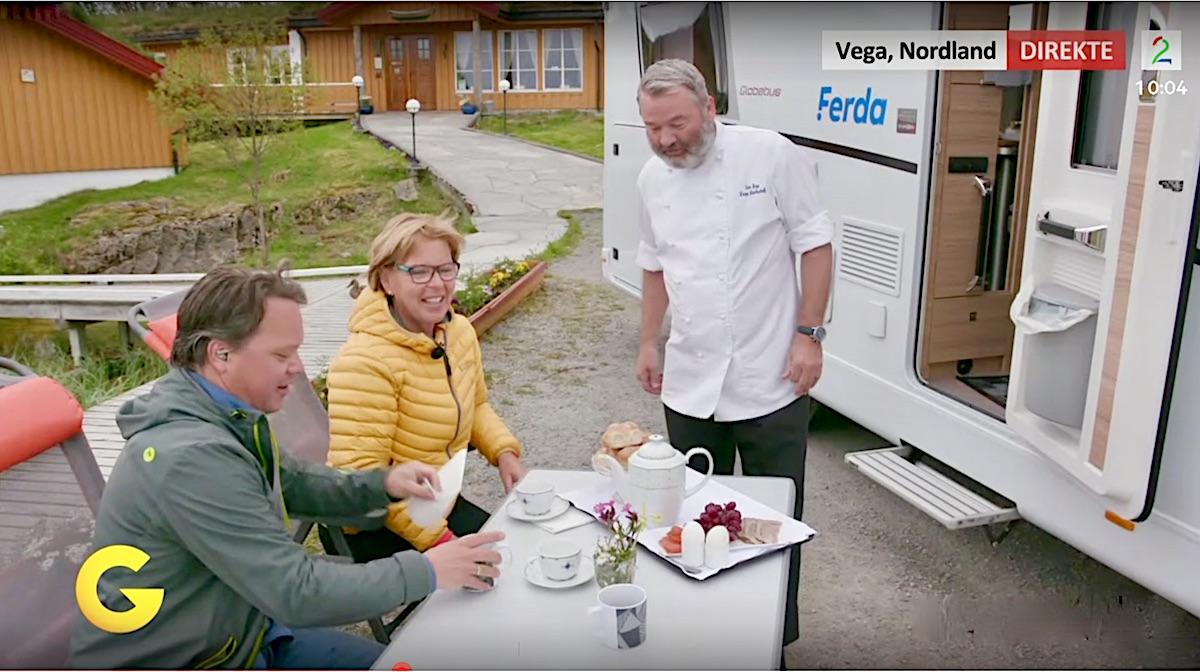 På bobiltur langs Helgelandskysten med God morgen Norge