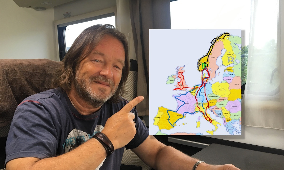 Hvordan planlegge bobilferie i Europa