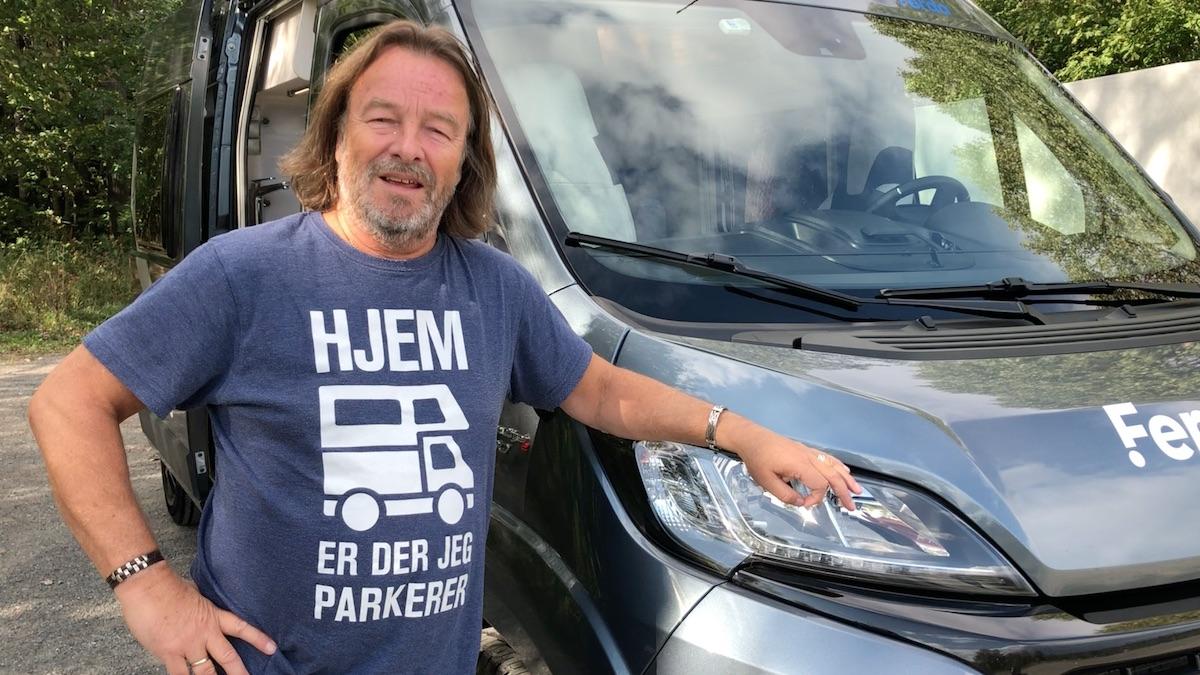 Vil du overta denne ett år gamle Knaus-bybobilen etter Per?