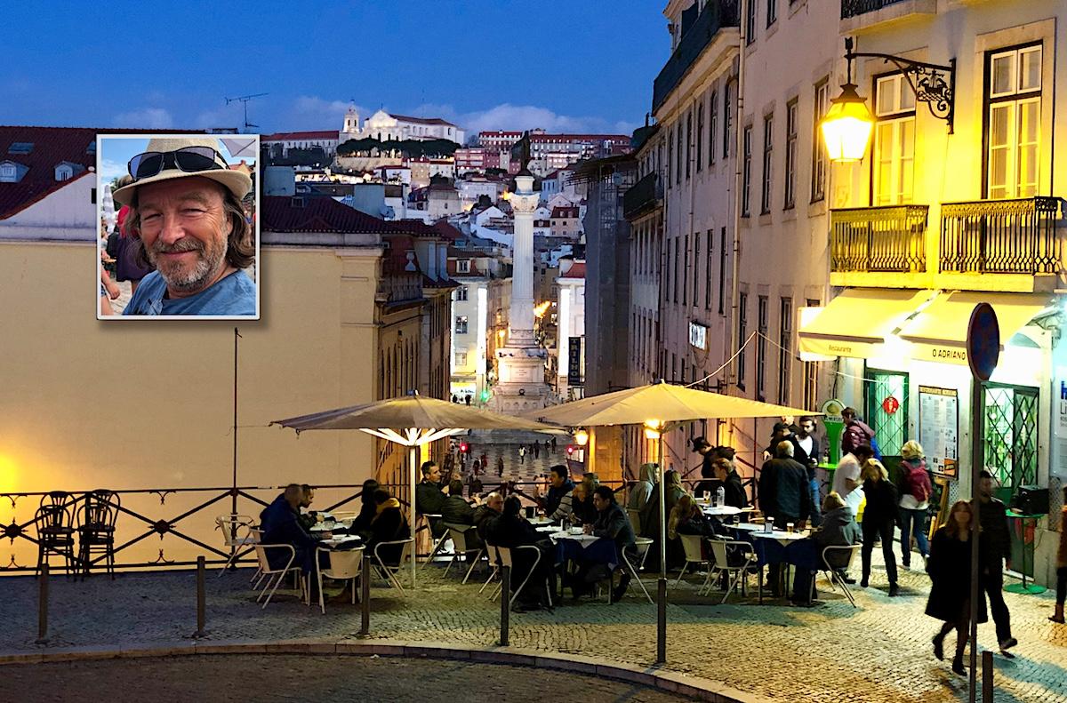 Med bobil til Lisboa, værsågod. Bli sjarmert i senk, du også!