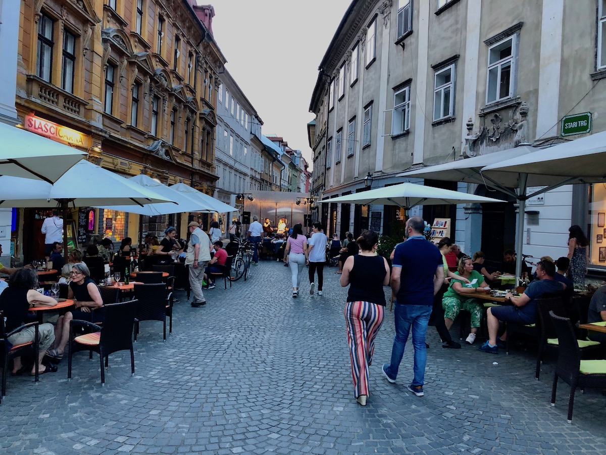 Ljubljana - en storbyhemmelighet stappfull av liv og småbysjarm