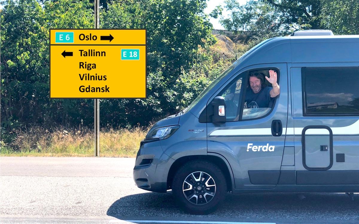 Tips Per om hva han bør se og gjøre på bobiltur i Øst-Europa i sommer!