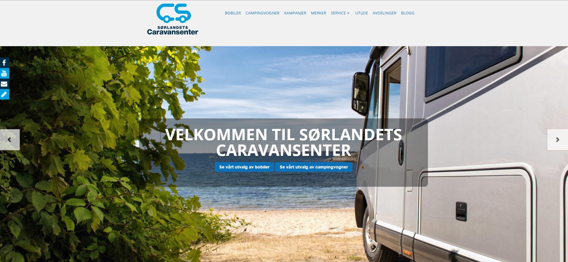 Skorpen og Myren Bil er nå endel av Sørlandets Caravansenter