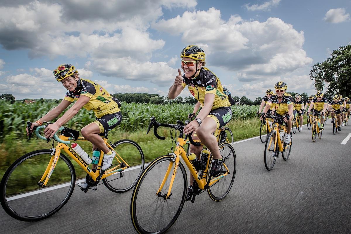 Team Rynkeby sykler for livet. Og Ferda er med som sponsor.