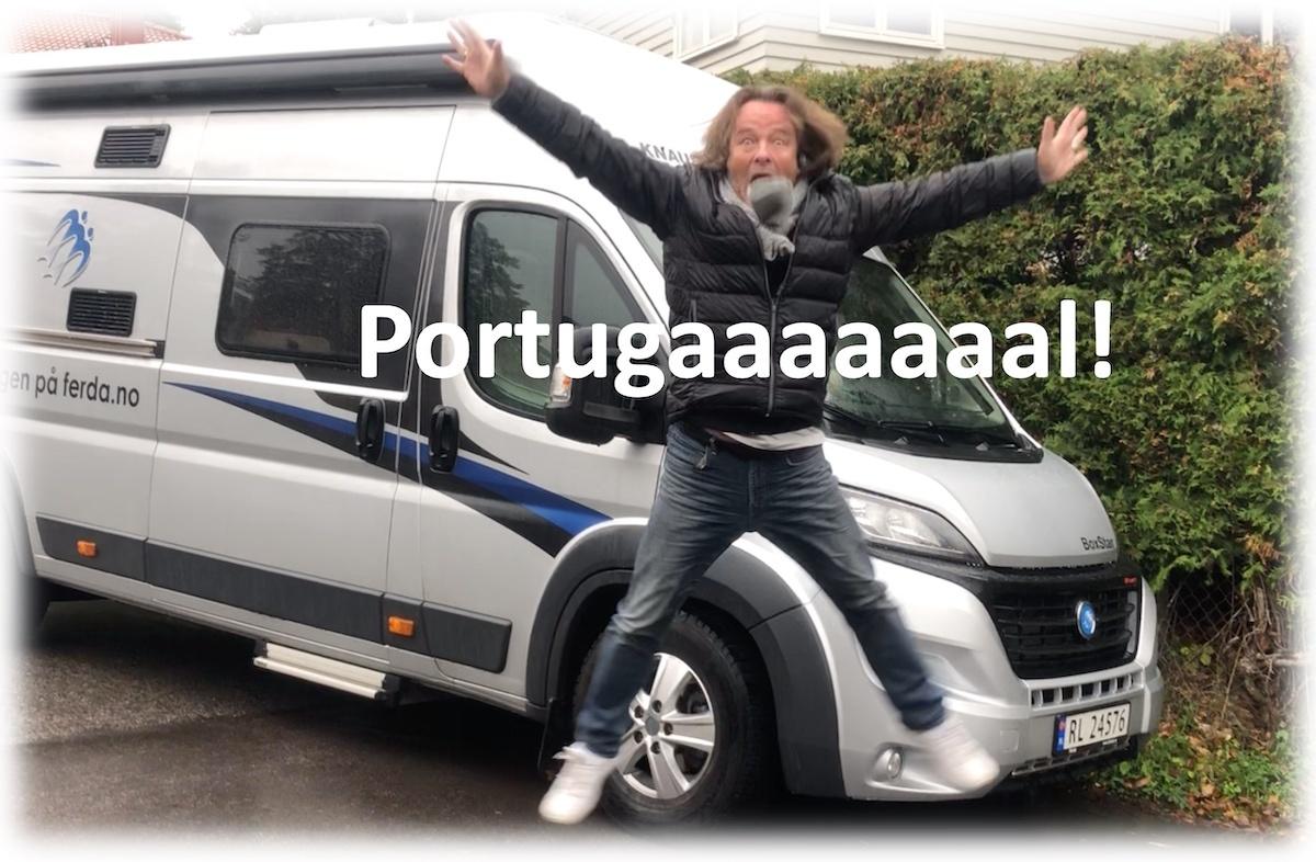 Til Portugal med Per Vie